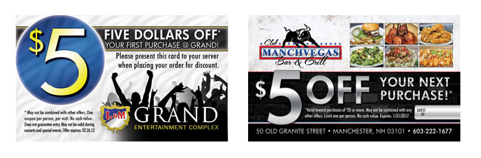 5 more ways to use business cards to generate business discount business card promotions reheart Choice Image
